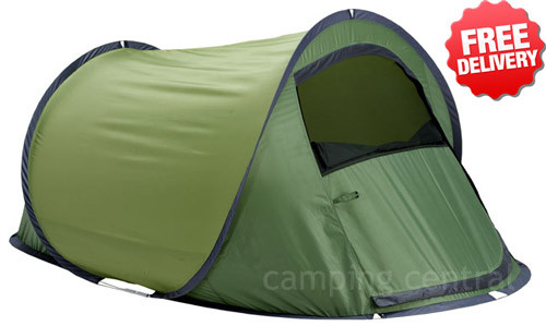 Oztrail Eco Switch Back 2 Pop Up Tent - (Angle View)