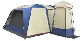 OZtrail Sportiva Lodge Family Tent - Sleeps 14 (Back View)