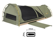 OZtrail Lachlan Deluxe 14oz Canvas Single Swag