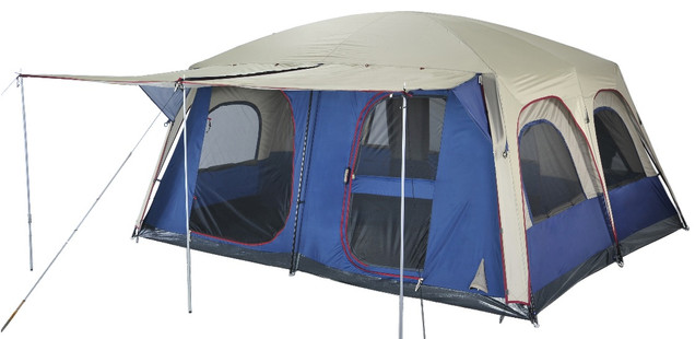 Image 1  sc 1 st  C&ing Central & OZtrail Sportiva Lodge Combo Large Family Tent - Sleeps 12