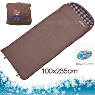OZtrail Cotton Canvas Swag -12 C. Mega Sleeping Bag