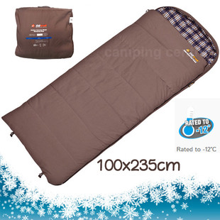 OZtrail Cotton Canvas Swag -12 C. Mega Sleeping Bag