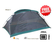OZtrail Mozzie Dome 2 Mesh Insect Screen Tent - with Free Shipping