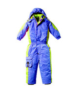Kaos Kids Snow Ski Jacket Pants Top Child Suit Overalls - Front View