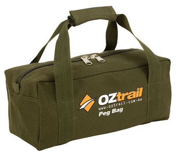 OZTRAIL CANVAS PEG BAG  sc 1 st  C&ing Central & OZtrail Canvas Tent Peg Bag available at Camping Central