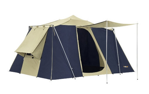 OZtrail Tourer Twin Canvas Touring Tent