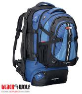 Black Wolf Cedar Breaks 75 Litre Backpack Travelpack