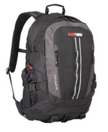 Black Wolf Classic 35 Litre Backpack Daypack (Black) - Front View