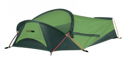 Black Wolf Lightweight Hiking Backpacking Compact Tent - Green