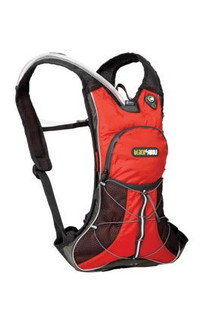 Black Wolf Rattler 2 Litre Hydration pack (Blue) - Front View