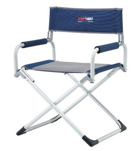 Turbo Directors Folding Lightweight Chair - Angle View