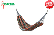 Rio Double Cotton Hammock 2.4x1.6m / 200kg Limit - With Free Shipping