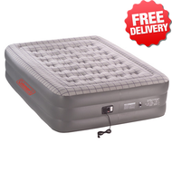 Coleman Quickbed (with 240V Pump) Double Height Air Quick Inflatable Bed Queen - With Free Shipping