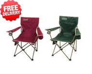 Coleman Rambler Camp Chair Folding Portable Camping Picnic Arm - Two Chairs