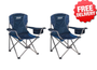 Coleman iSIT™ Quad Folding Portable Camping Picnic Arm Chair X 2 - Free Shipping