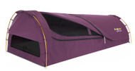 OZTRAIL KOKOMO KING SINGLE CANVAS (MITCHELL PURPLE) DOME SWAG