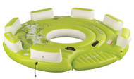 SEVYLOR PARTY DOCK 6-7 PERSON INFLATABLE BOAT TUBE BISCUIT
