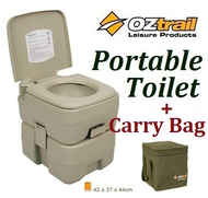 OZtrail portable toilet lavatory outdoor 20 Litres sealed carry bag
