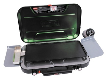 Coleman 3 Burner Eventemp Stove With Electronic Ignition (with Griddle)