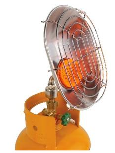 Gasmate portable LPG camping heater