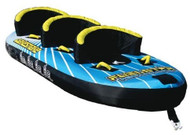 FUEL WAKESNAKE 3 PERSON SURF SKI TUBE BISCUIT INFLATABLE *NEW*