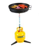 gasmate hot aussie portable camp bbq gas  grill cooker