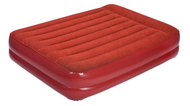 OZtrail Queen size double height Inflatable Velour Air Bed  Mattress