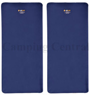 2 X OZTRAIL (SINGLE) LEISURE MAT SELF INFLATING Mattress Air Camp Tent Bed