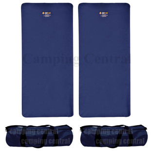2 X OZTRAIL LEISURE MAT (WITH BAG)
