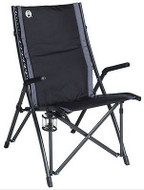 COLEMAN PADDED BUNGY Folding Portable Camping Picnic Arm Chair