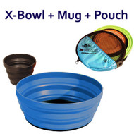 SEA TO SUMMIT X-BOWL & MUG CAMPING PORTABLE LIGHTWEIGHT COMPACT X BOWL