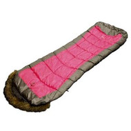 COLEMAN FOXY LADY HOODED (PINK) 0Cel. Sleeping Bag 200 X 80cm