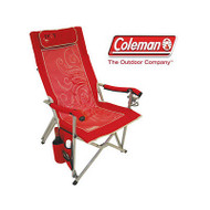 COLEMAN FOXY LADY (RED) RELAXER Folding Portable Camping Picnic Arm Chair