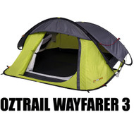 OZTRAIL WAYFARER 3 POP UP TENT