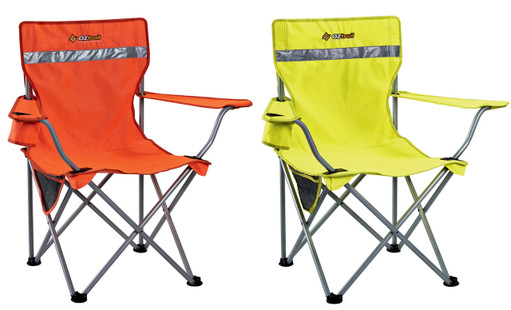 2 X HIGH VISIBILITY CHAIRS