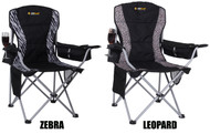 Oztrail Safari Camping Chair (Twin Pack) - Front view