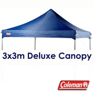 Blue 3x3m Replacement Canopy for Deluxe Gazebo