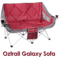 Oztrail Galaxy Sofa Chair - Front view