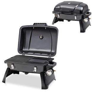 Gasmate Voyager BBQ (lid open)