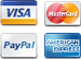 We accept Visa, MasterCard, American Express and PayPal