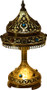 solid brass table lamps