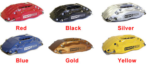 Stoptech Calipers Options