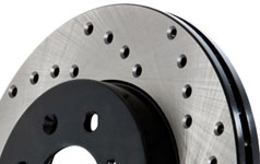 stoptech sport drilled rotor