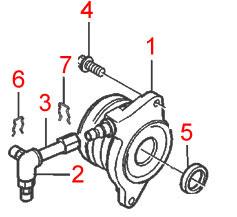 Genuine Volvo Clutch Slave Cylinder Kit, S60R/V70R 31259889