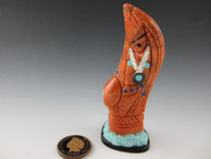 Corn Maiden fetish carving by Zuni artist Vickie Quandelacy available from Sacred Bear Jewelry.