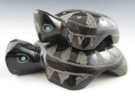 Turtle Companions by Zuni artist Russell Shack.