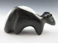 Skunk Fetish Carving by Zuni artist Calvert Bowannie.