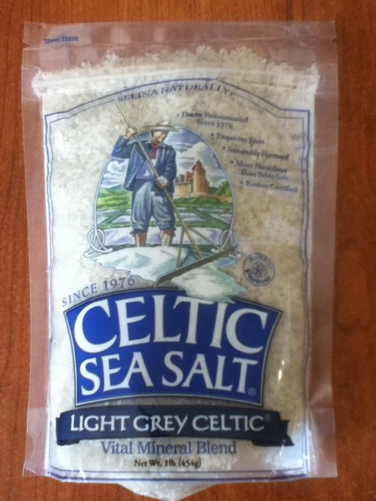Light Grey Celtic Sea Salt - 1 Pound
