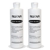 2-Pack Nuova Synthetic Shredder Oil, 12 oz. Bottle with Flip Top Cap