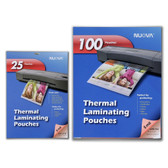 Nuova 5 Mil Thermal Laminating Pouches 9 x 11.5 Inches, Letter Size, 100-Pack and 5 Mil Thermal Laminating Pouches 5 x 7-Inches, Photo Size, 25-Pack Bundle